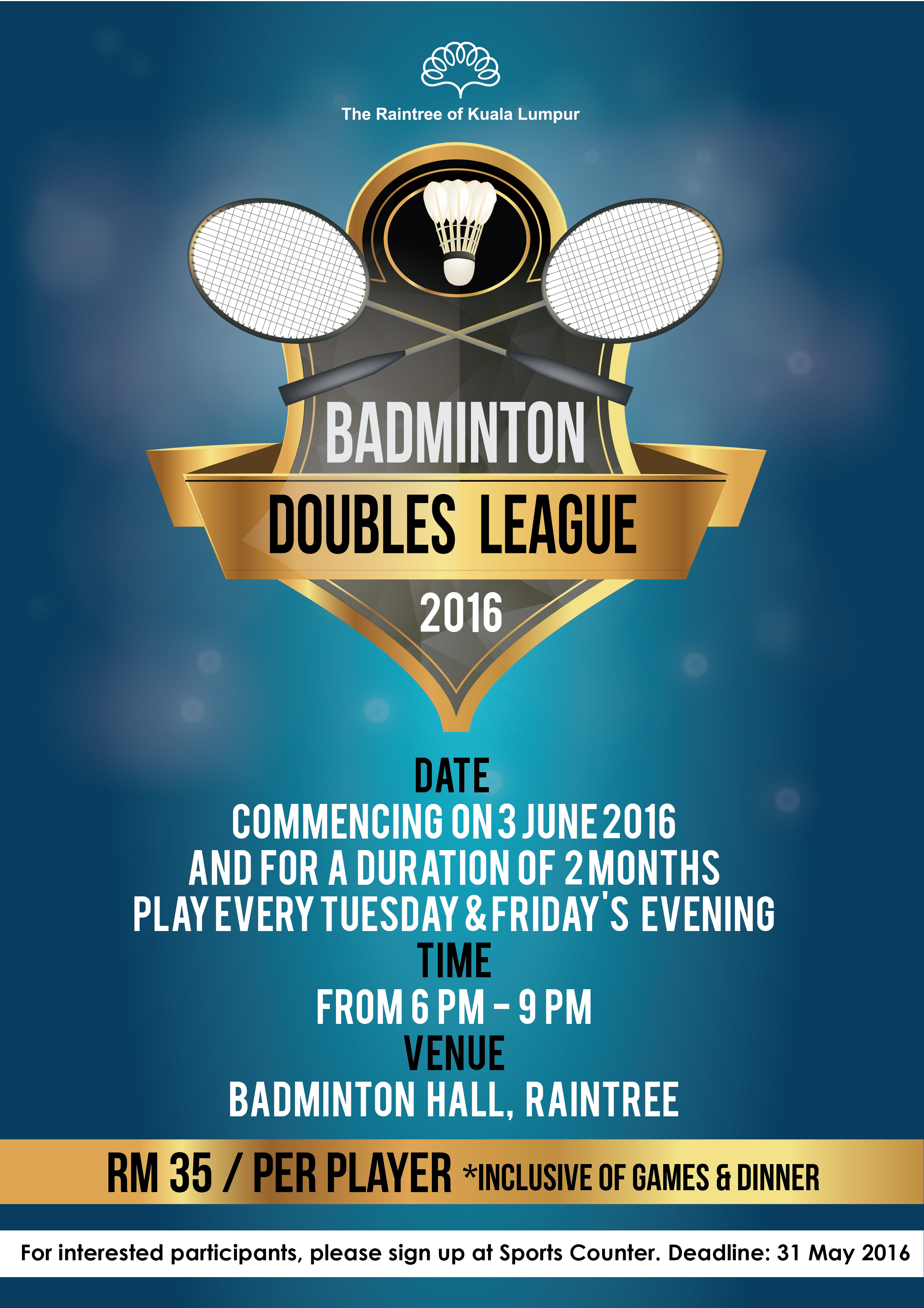 1_Badminton Double League 2016 Poster-01