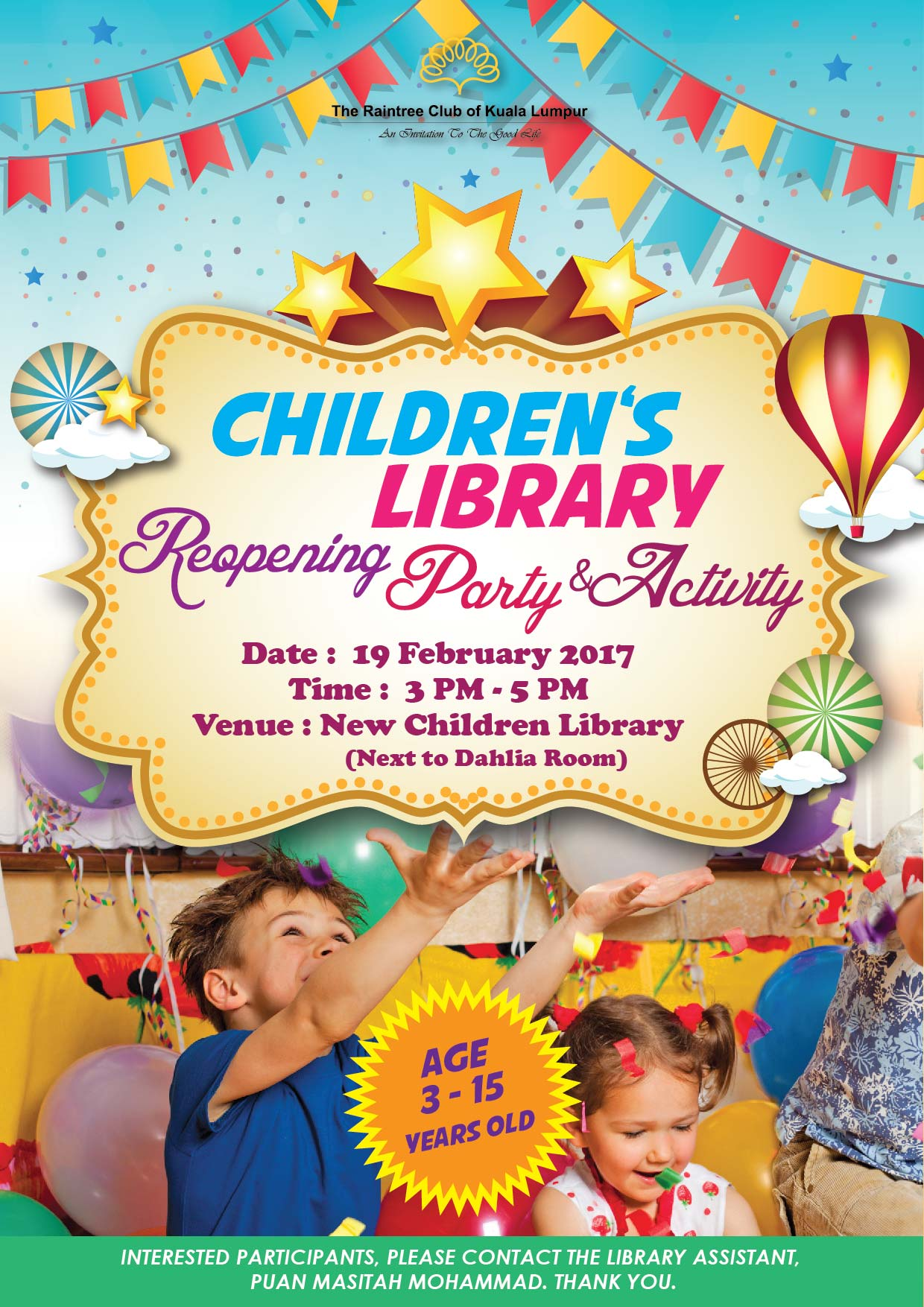 1_Children Library Reopening Poster-01